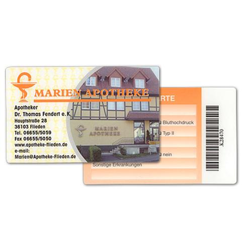 Kundenkarte der Marien Apotheke Flieden